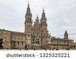 santiago de compostela  spain   ... | Shutterstock . vector #1325325221