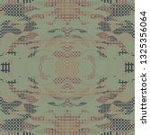 quirky tapestry pattern.... | Shutterstock .eps vector #1325356064