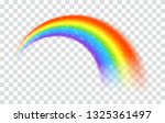 Rainbow Icon Isolated On...