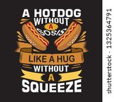 hotdog quote. a hotdog without...   Shutterstock .eps vector #1325364791