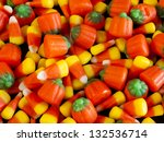 Halloween Candy Corn And...