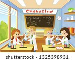 elementary class school of... | Shutterstock .eps vector #1325398931