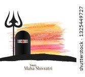 abstract mahashivratri festival ...   Shutterstock .eps vector #1325449727