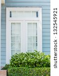 beautiful window style in...   Shutterstock . vector #132545921