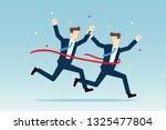 win together concept | Shutterstock .eps vector #1325477804