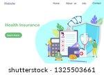 healthcare insurance vector...