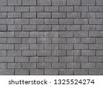dark gray cement brick wall.... | Shutterstock . vector #1325524274