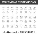 set of vector line icons ready... | Shutterstock .eps vector #1325532011