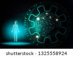 abstract background technology... | Shutterstock . vector #1325558924