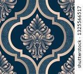 vector damask seamless pattern... | Shutterstock .eps vector #1325566517
