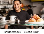 what can i serve you today  | Shutterstock . vector #132557804