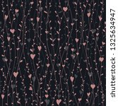 cute seamless pattern with... | Shutterstock .eps vector #1325634947