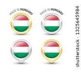 made in hungary   guarantee... | Shutterstock .eps vector #1325645984