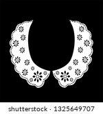 Cotton Eyelet Collar