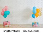 Birthday Balloons With Gift...