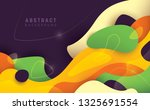 artistic background made of... | Shutterstock .eps vector #1325691554