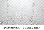 transparent water background... | Shutterstock .eps vector #1325695064