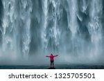 iceland landscape photo of... | Shutterstock . vector #1325705501