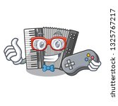 gamer miniature accrodion in...   Shutterstock .eps vector #1325767217