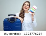 woman travel dreaming and... | Shutterstock . vector #1325776214