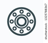 flange icon  stainless steel... | Shutterstock .eps vector #1325788367