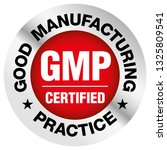 gmp  good manufacturing... | Shutterstock .eps vector #1325809541
