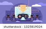 esports vector illustration.... | Shutterstock .eps vector #1325819024