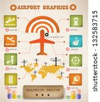 Airport Info Graphics Graphics...