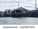 bandar seri begawan  brunei  ... | Shutterstock . vector #1325857391