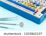 closeup of dental instruments...   Shutterstock . vector #1325862137