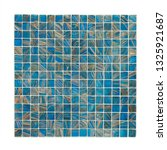 square background wall mosaic...   Shutterstock . vector #1325921687