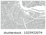 white and grey vector city map... | Shutterstock .eps vector #1325922074