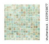 square background wall mosaic...   Shutterstock . vector #1325923877