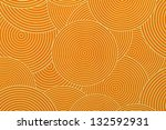 Orange Ornamental Seamless...