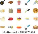 color flat icon set teflon flat ... | Shutterstock .eps vector #1325978594