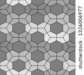 geometrical backdrop. hexagons  ...   Shutterstock .eps vector #1326006977