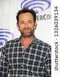 luke perry arrives at the ... | Shutterstock . vector #1326039134