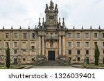 mosteiro de san martino pinario ... | Shutterstock . vector #1326039401