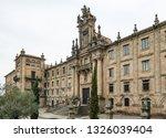 mosteiro de san martino pinario ... | Shutterstock . vector #1326039404
