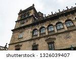 santiago de compostela... | Shutterstock . vector #1326039407