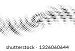 halftone gradient pattern....   Shutterstock .eps vector #1326060644