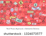color collection of hand...   Shutterstock .eps vector #1326073577