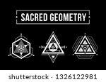 sacred geometry symbol design.... | Shutterstock .eps vector #1326122981