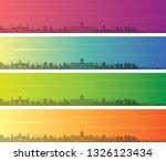 dhaka multiple color gradient...   Shutterstock .eps vector #1326123434