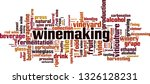 winemaking word cloud concept.... | Shutterstock .eps vector #1326128231