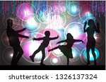 family silhouettes . abstract...   Shutterstock .eps vector #1326137324