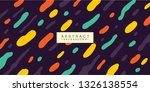 abstract background design with ... | Shutterstock .eps vector #1326138554
