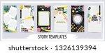 trendy editable template for... | Shutterstock .eps vector #1326139394