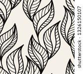 vector seamless pattern. hand... | Shutterstock .eps vector #1326150107