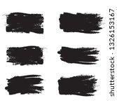 brush stroke set isolated on... | Shutterstock .eps vector #1326153167